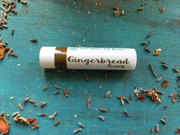 {GINGERBREAD} Holiday No Melt Lip Balm