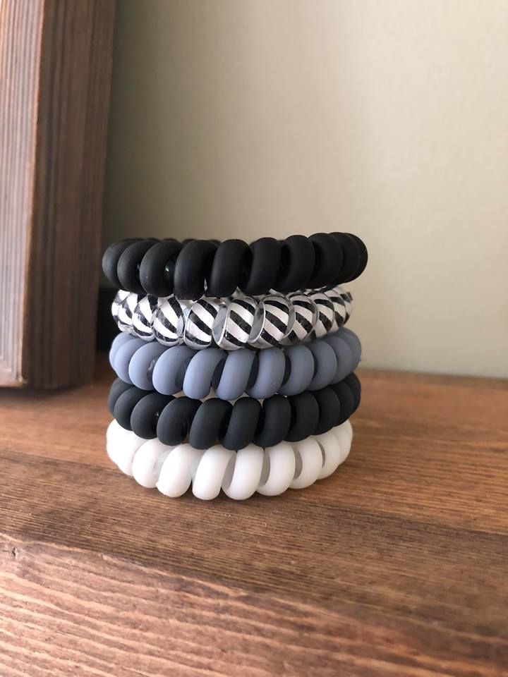 Matte Basics Grayscale Hair Coil Stack {Set of 5}