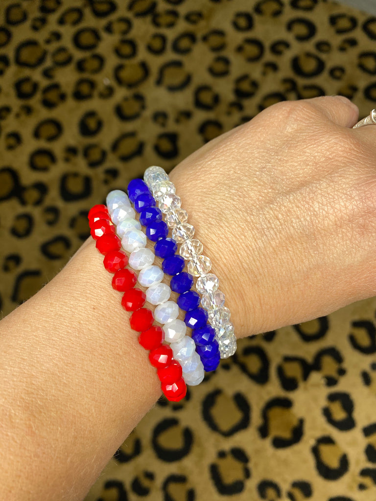 {LIBERTY BELL} Bracelet Stack {Set of 4 Bracelets}