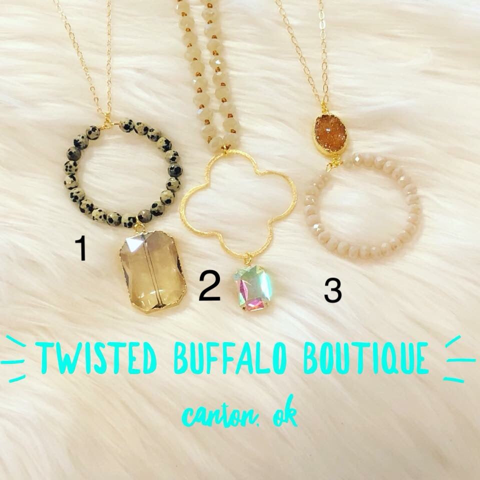 """Charmed"" Collection Necklaces {THREE STYLES}"