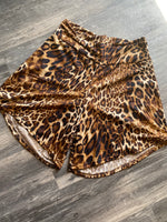 {LORELAI} Leopard Super Soft Shorts