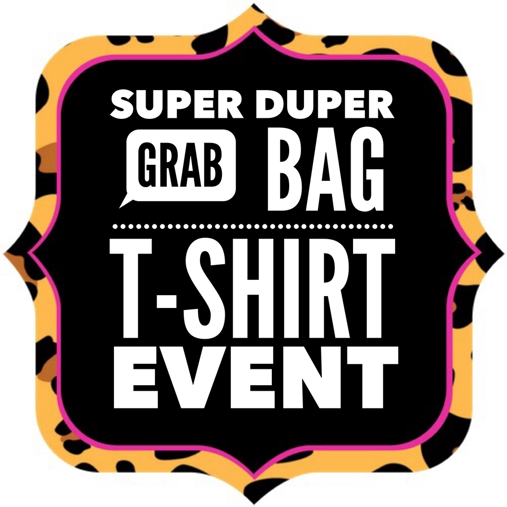 SUPER DUPER Grab Bag T-Shirt Event