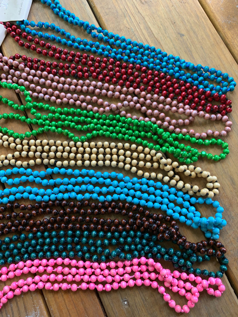"{COOPER} BRIGHT 60"" Beaded Necklaces"
