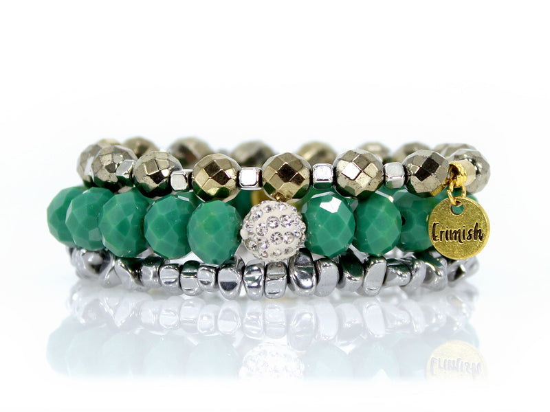 March 2019 Erimish {GREEN WITH ENVY} Bracelet Set {Pre-Order}