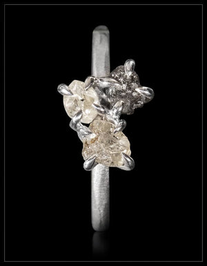 Trinity White Gold Ring - <strong>1.34 ct.</strong>