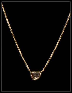 Harmony Brown Diamond Gold Necklace - <strong>1.49 ct.</strong>