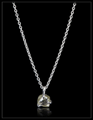 Natural Rough Beauty from Eternity in white gold necklace – <strong> 1.73 ct. </strong>