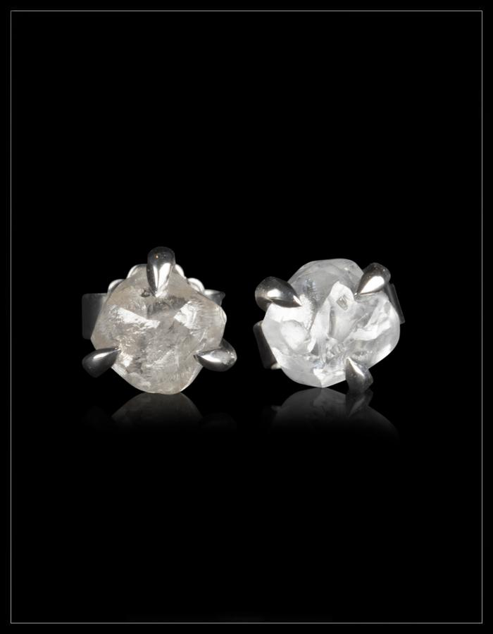High Quality Diamond White Gold Earrings - <strong>2.26 ct.</strong>