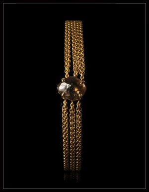 Big Chunky Brown Diamond Bracelet - <strong>3.67 ct.</strong>