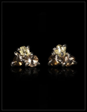 Colour Bomb White Gold Earrings - <strong>3.76 ct.</strong>