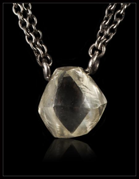 Softly Edged Diamond Necklace - <strong>1.52 ct.</strong>