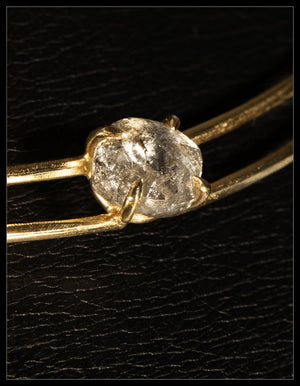 Signature Raw Diamond Gold Choker - <strong>4.17 ct.</strong>