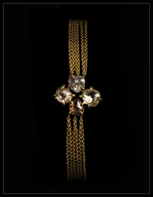 Four Leaf Clover Diamond Bracelet - <strong>5.62 ct.</strong>