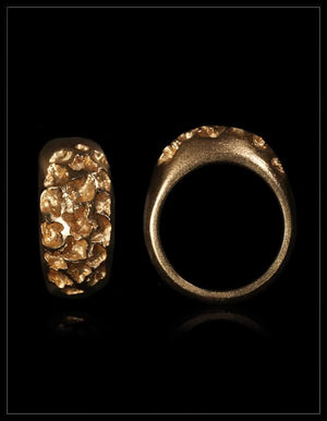 Signature Moon Gold Ring