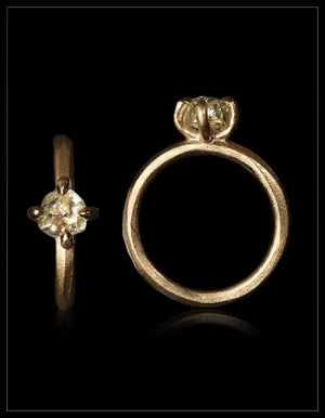 Mother Nature's Yellow Treasure Ring - <strong>1.30 ct.</strong>