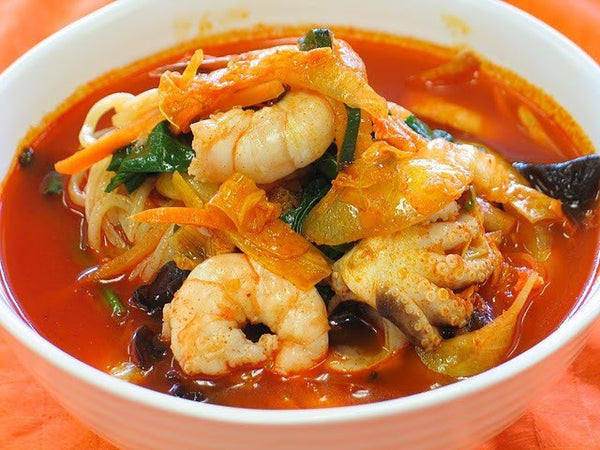 Upcoming - Noodle Soup with Seafood and Feelings