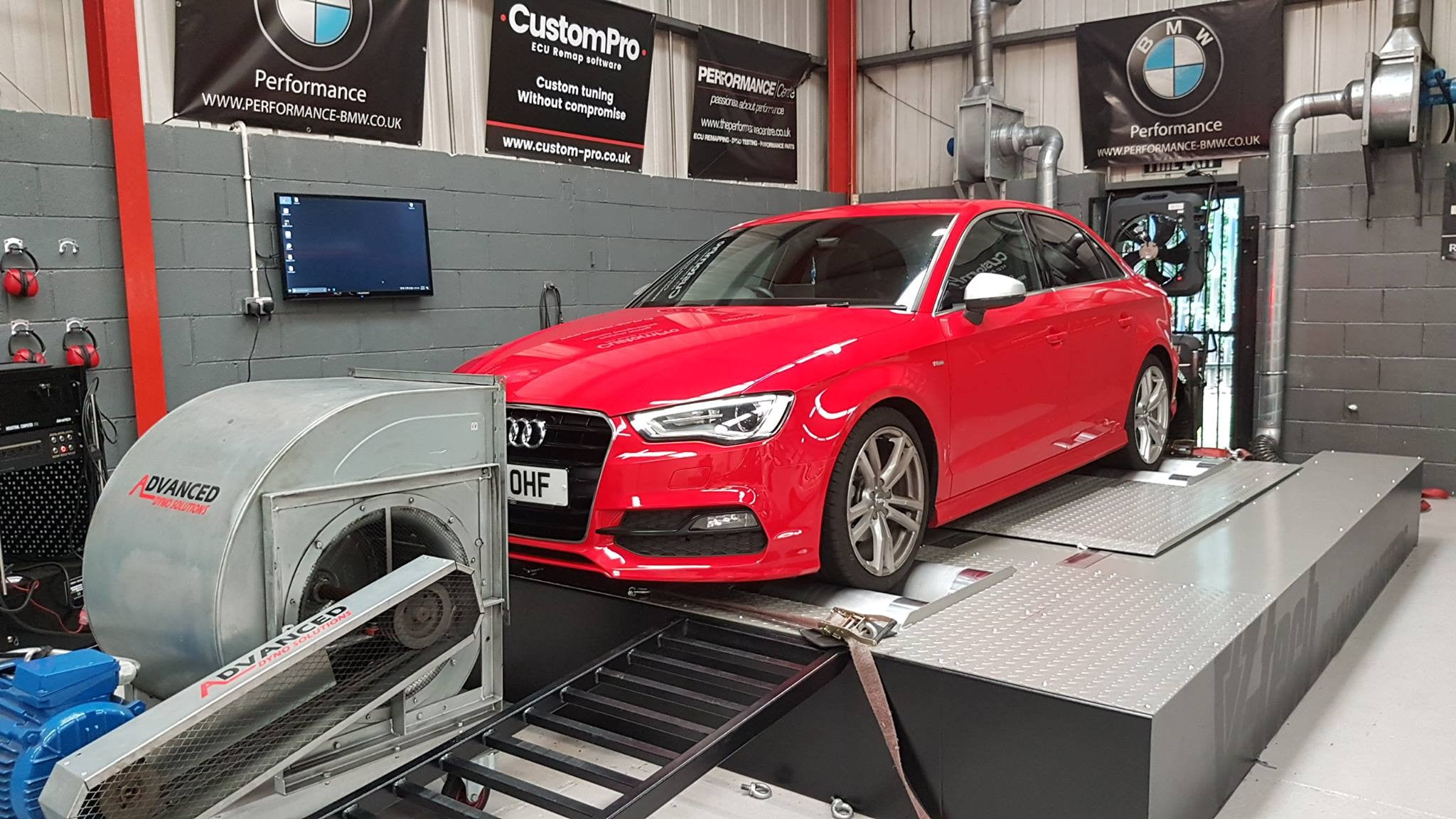 Audi A3 1.6 CR110 - CustomPro remap