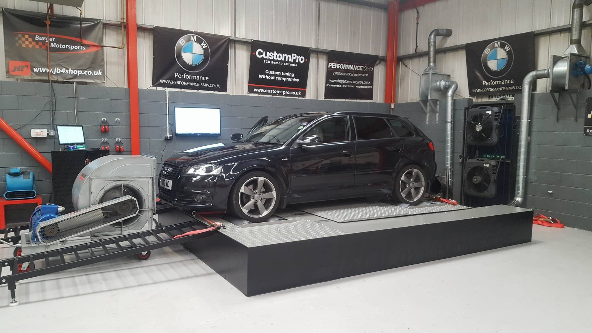 Audi A3 2.0 170 Quattro - CustomPro remap