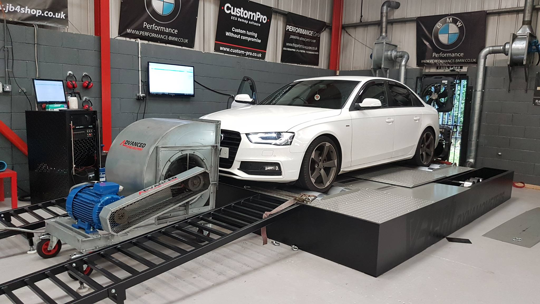 Audi A4 2.0 - CustomPro remap