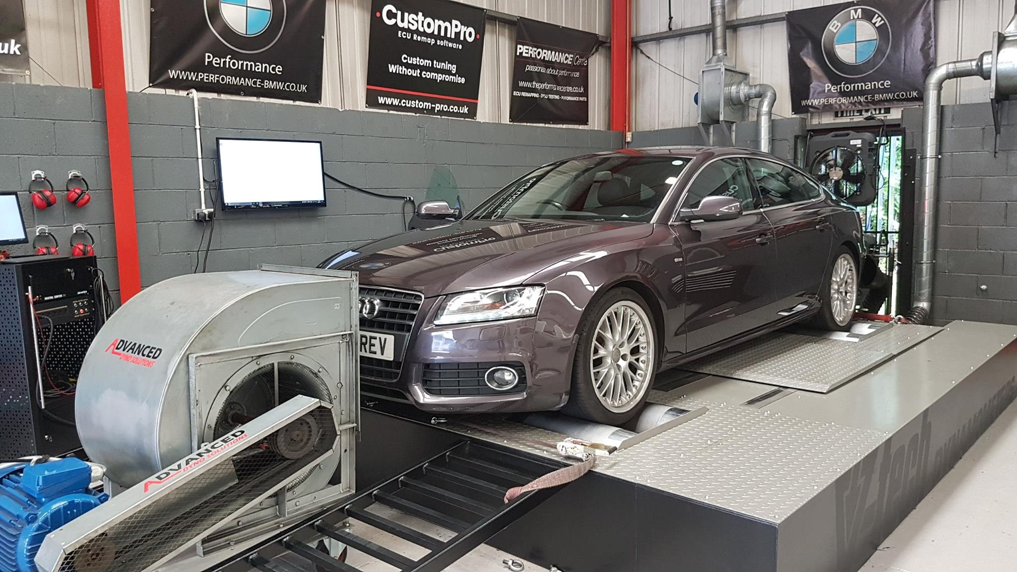 Audi A5 Sportback - CustomPro remap