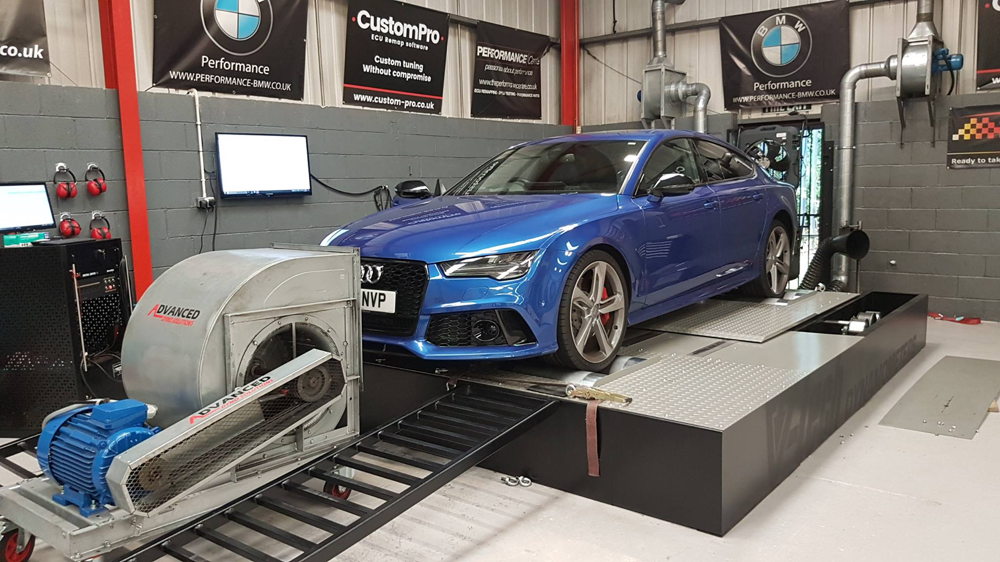 Audi RS7 - CustomPro Remap