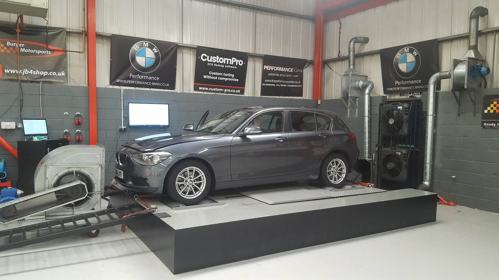 BMW F series 118d - CustomPro remap