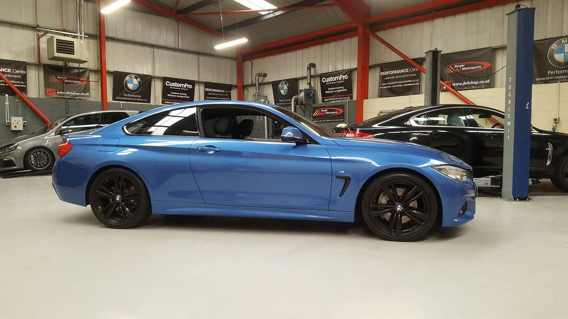 BMW 435d X-Drive - Eibach lowering springs