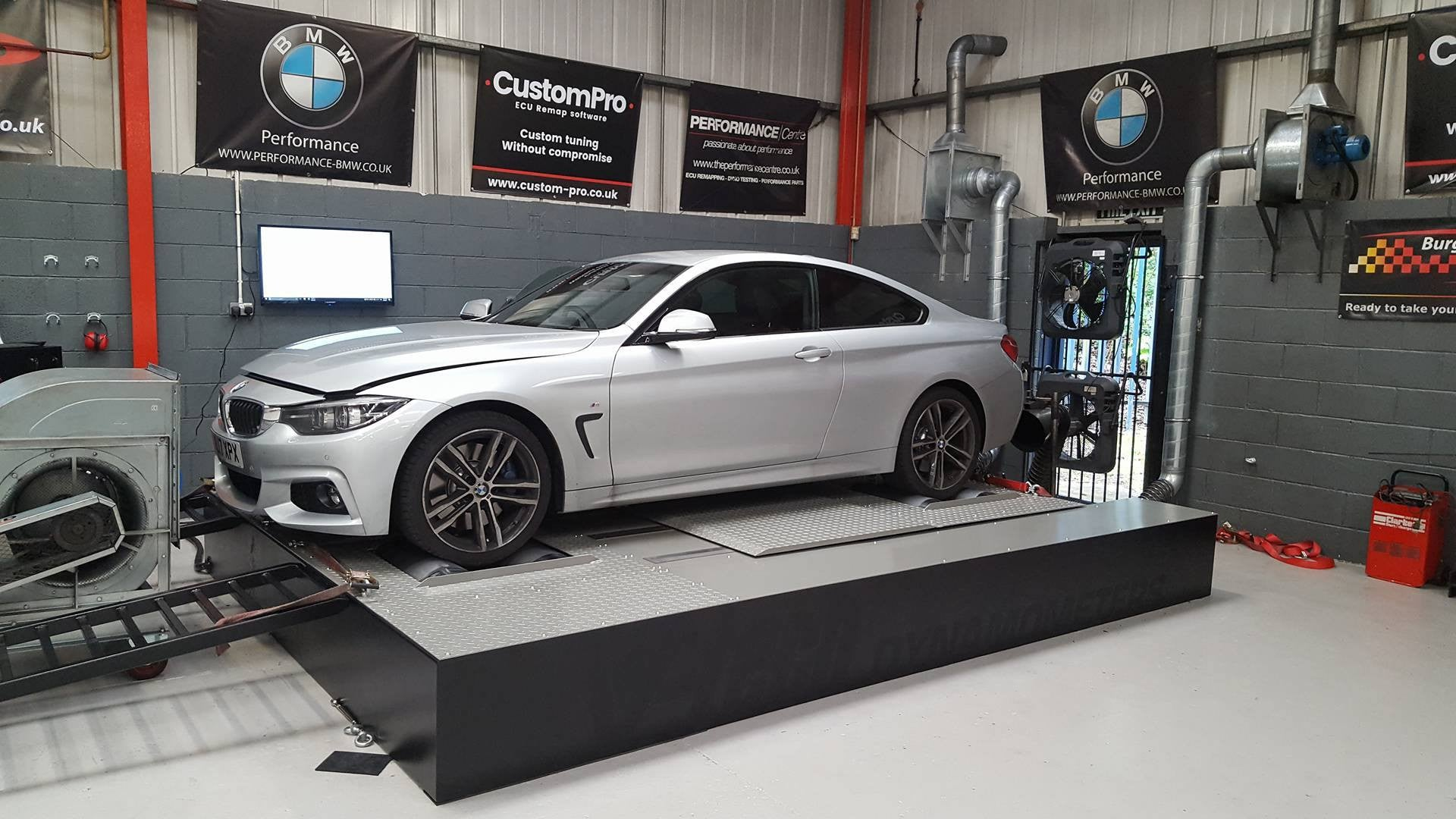 BMW 435xd - CustomPro remap software