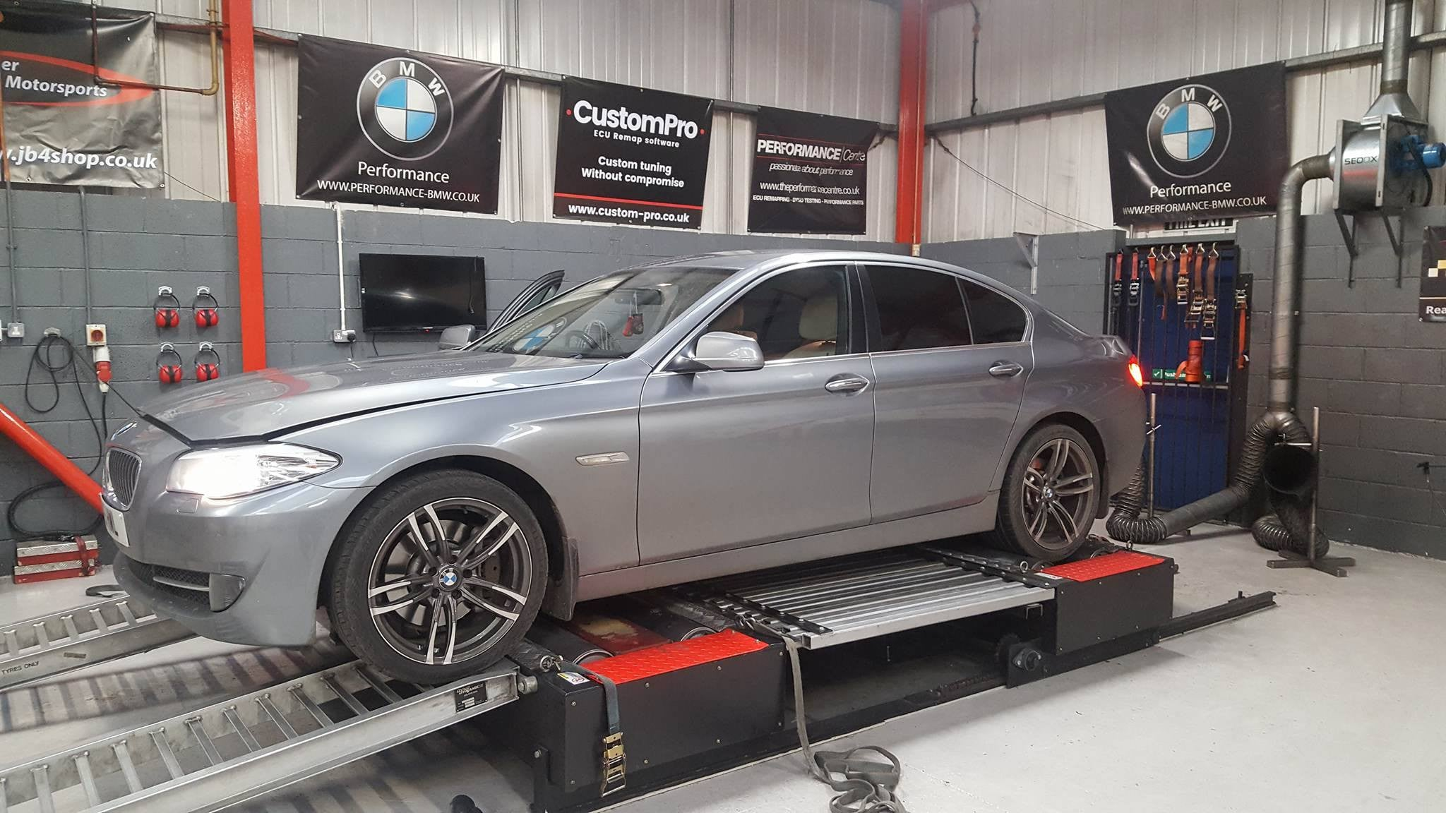 BMW 525D F10 - CustomPro remap