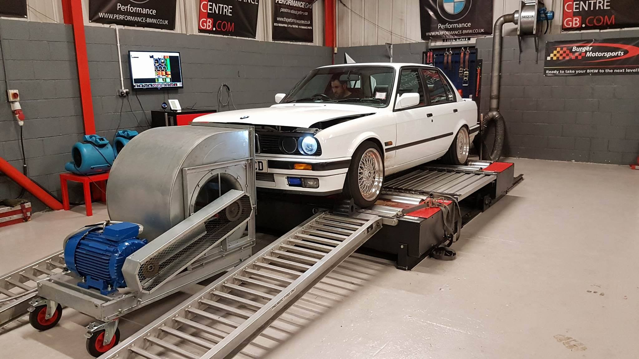 BMW E30 318i turbo - Rolling road testing