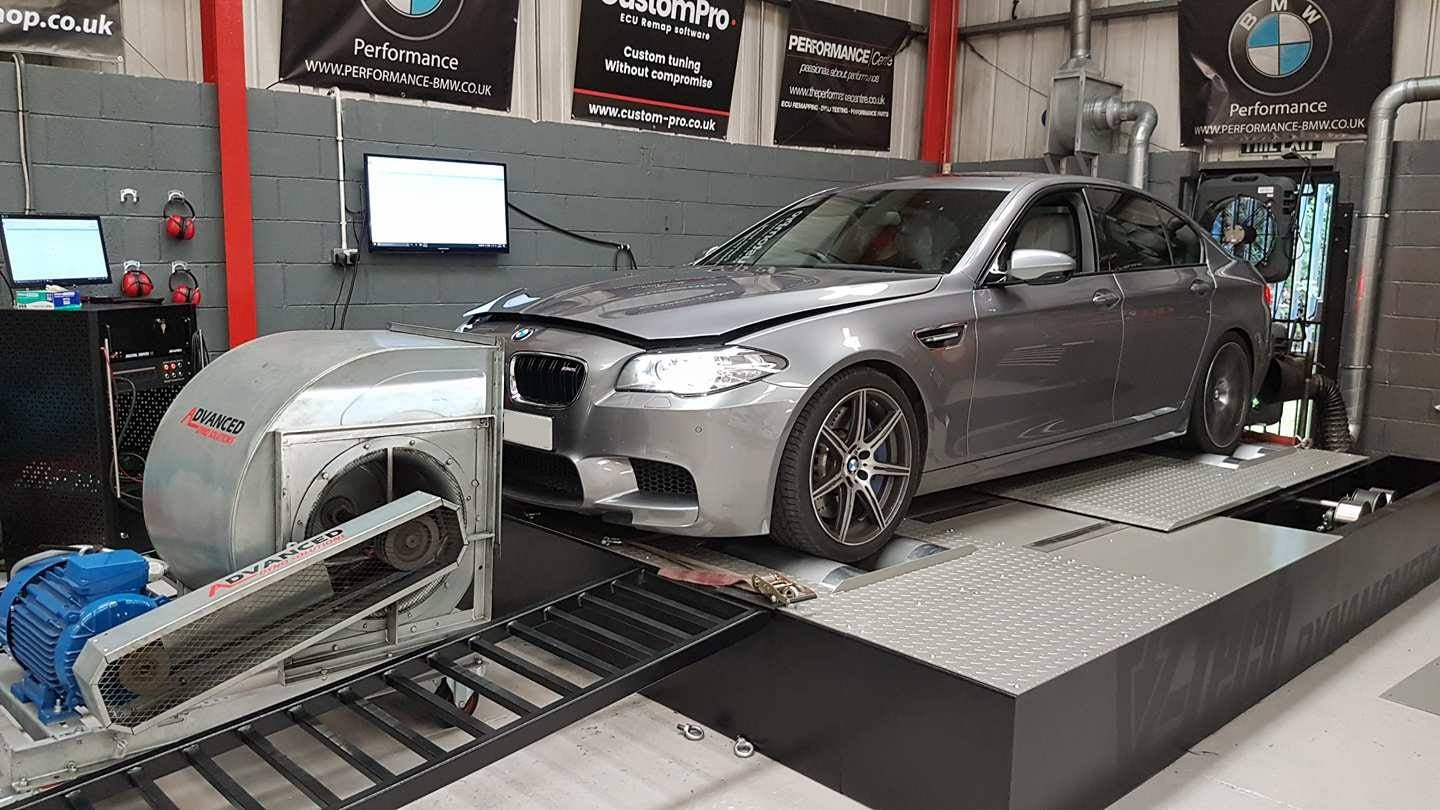 BMW F10 M5 competition pack - JB4 + Boost control module
