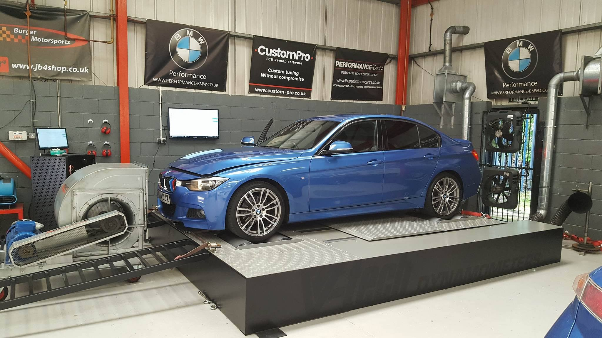 BMW 320d F30 - CustomPro remap