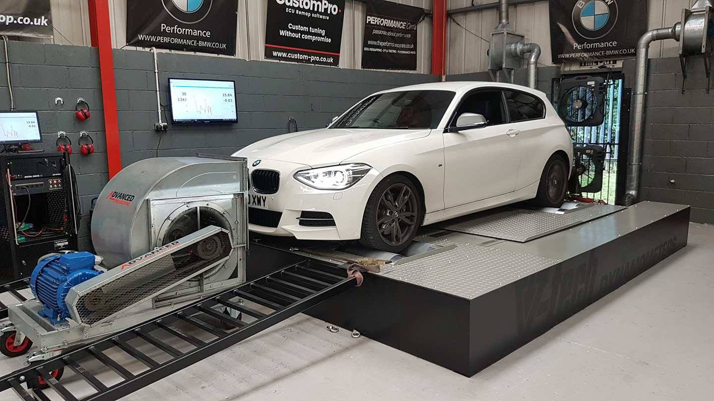 BMW M135i - JB4, decat, intercooler