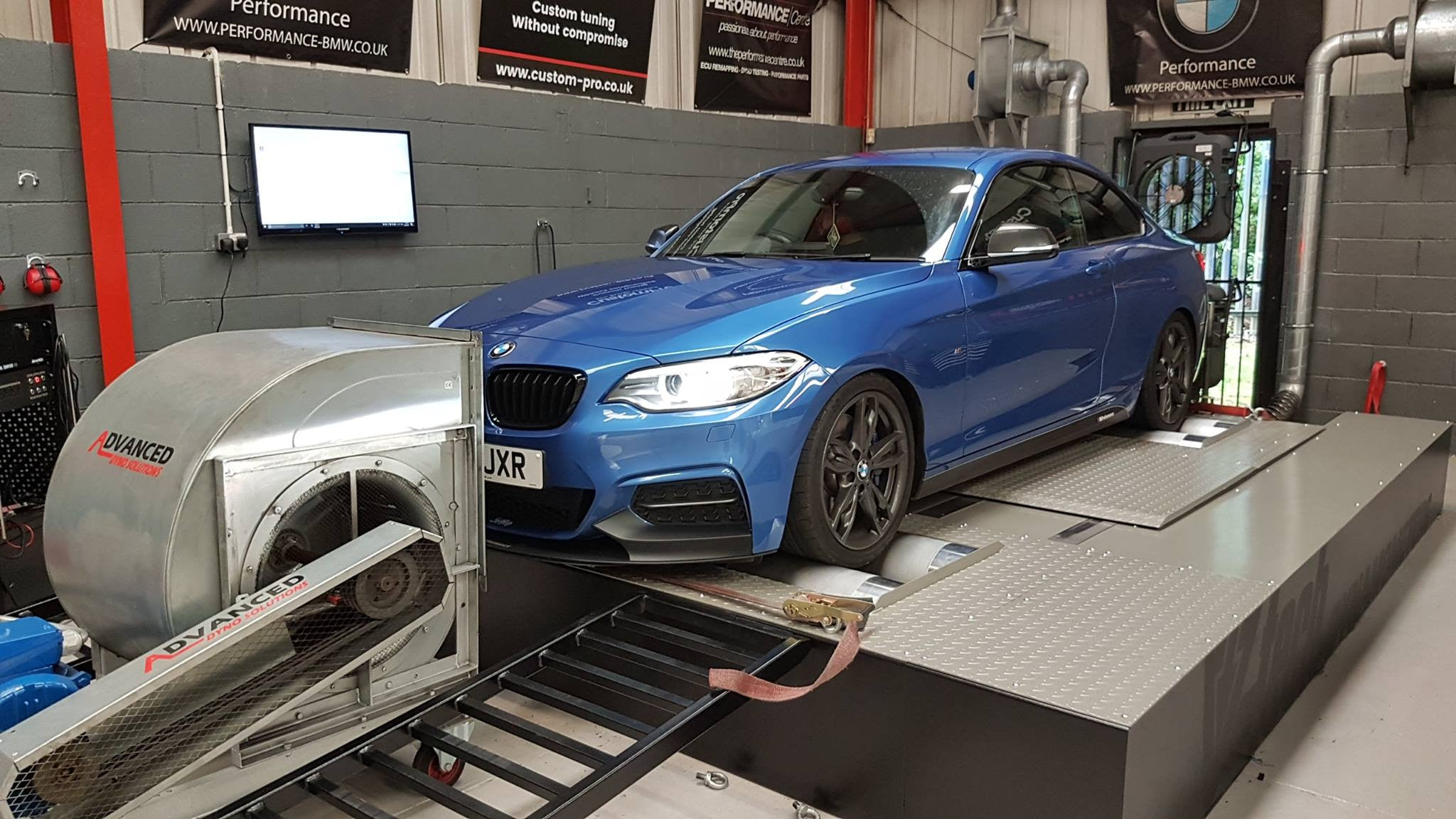 BMW M235i - JB4, Decat downpipe and rolling road testing