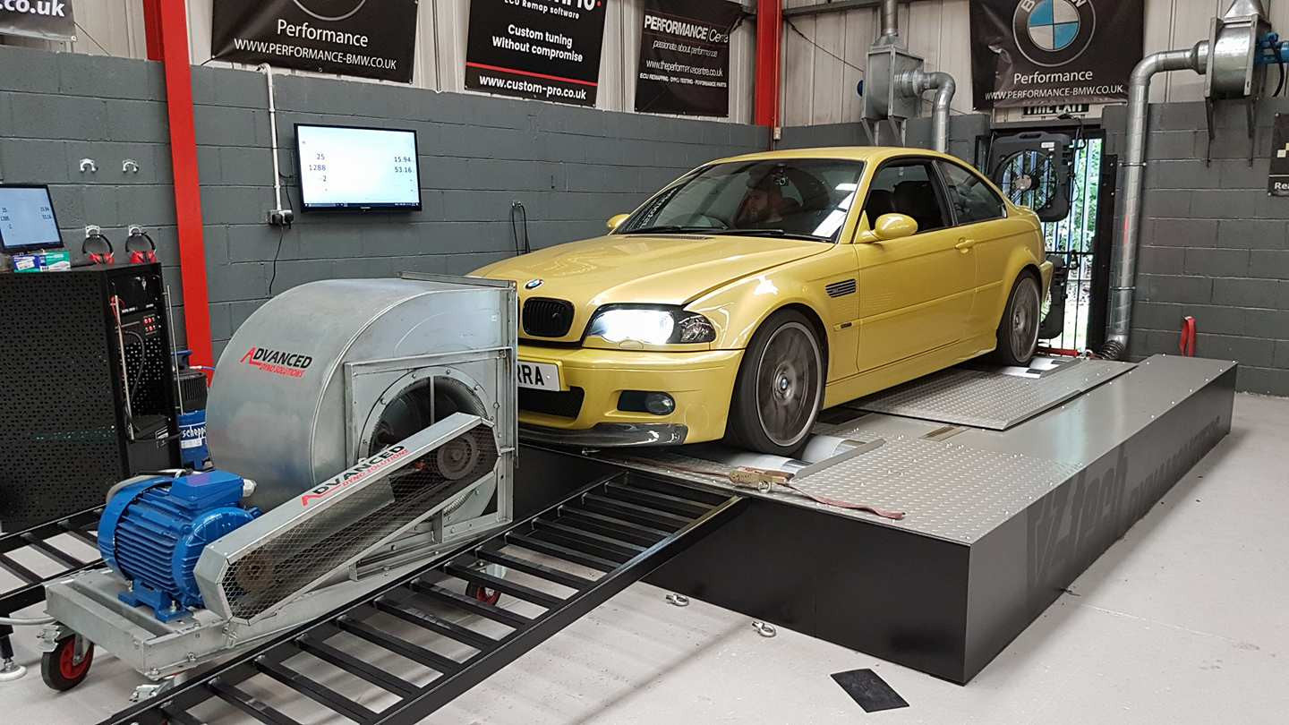 BMW E46 M3 - CustomPro remap