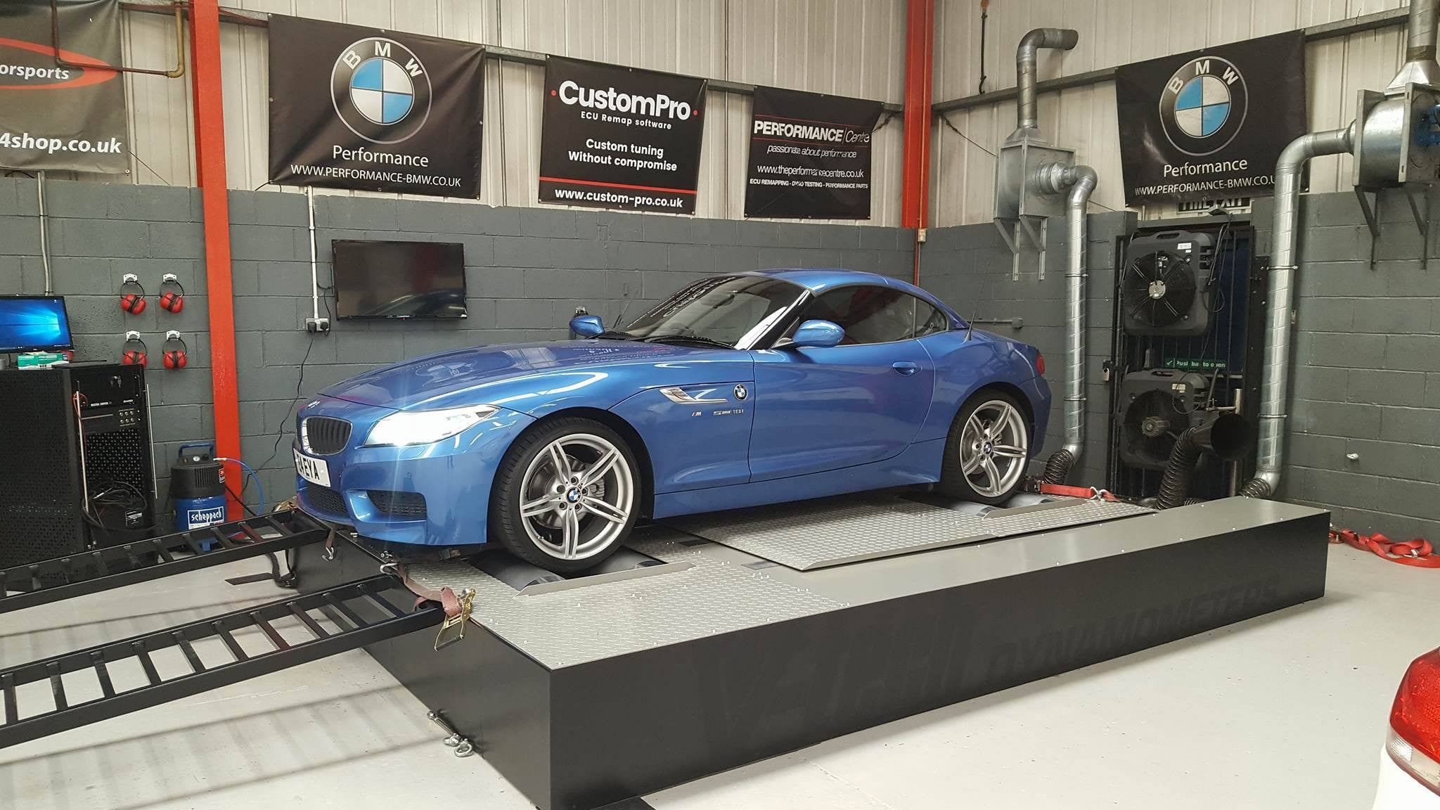 BMW Z4 18i - CustomPro remap