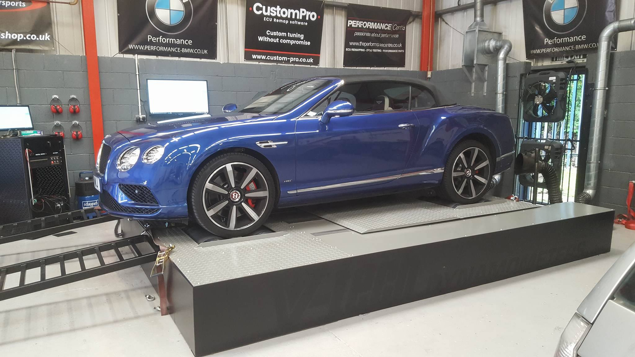 Bentley Continental GTS - CustomPro remap + Larini resonator delete