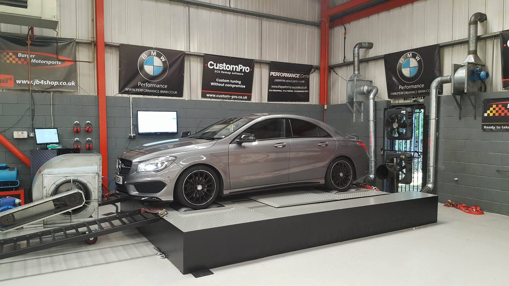 Mercedes CLA200 CDI - CustomPro remap