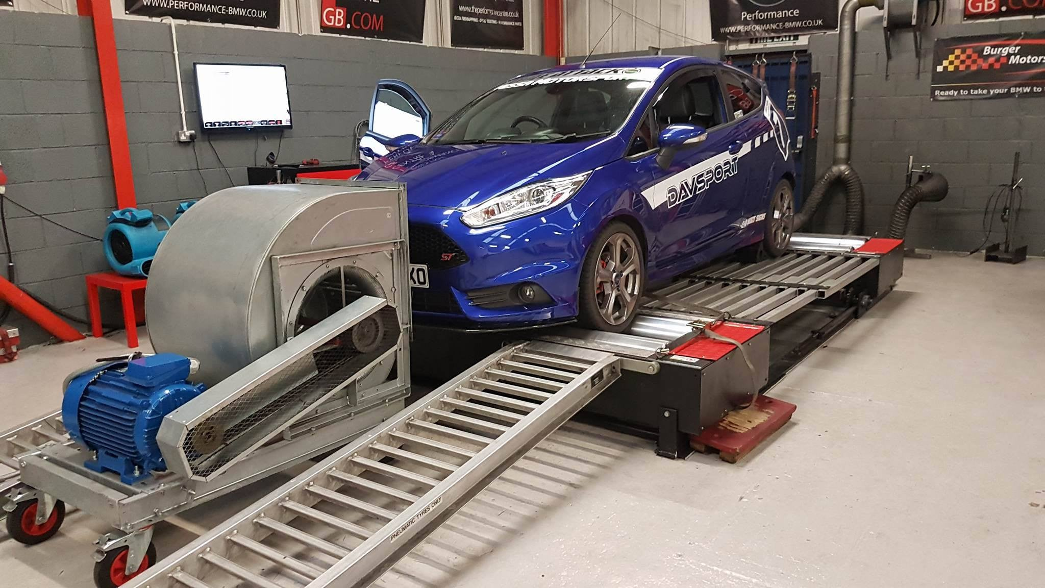 Ford Fiesta ST 180 - Revo Stage 1 Software
