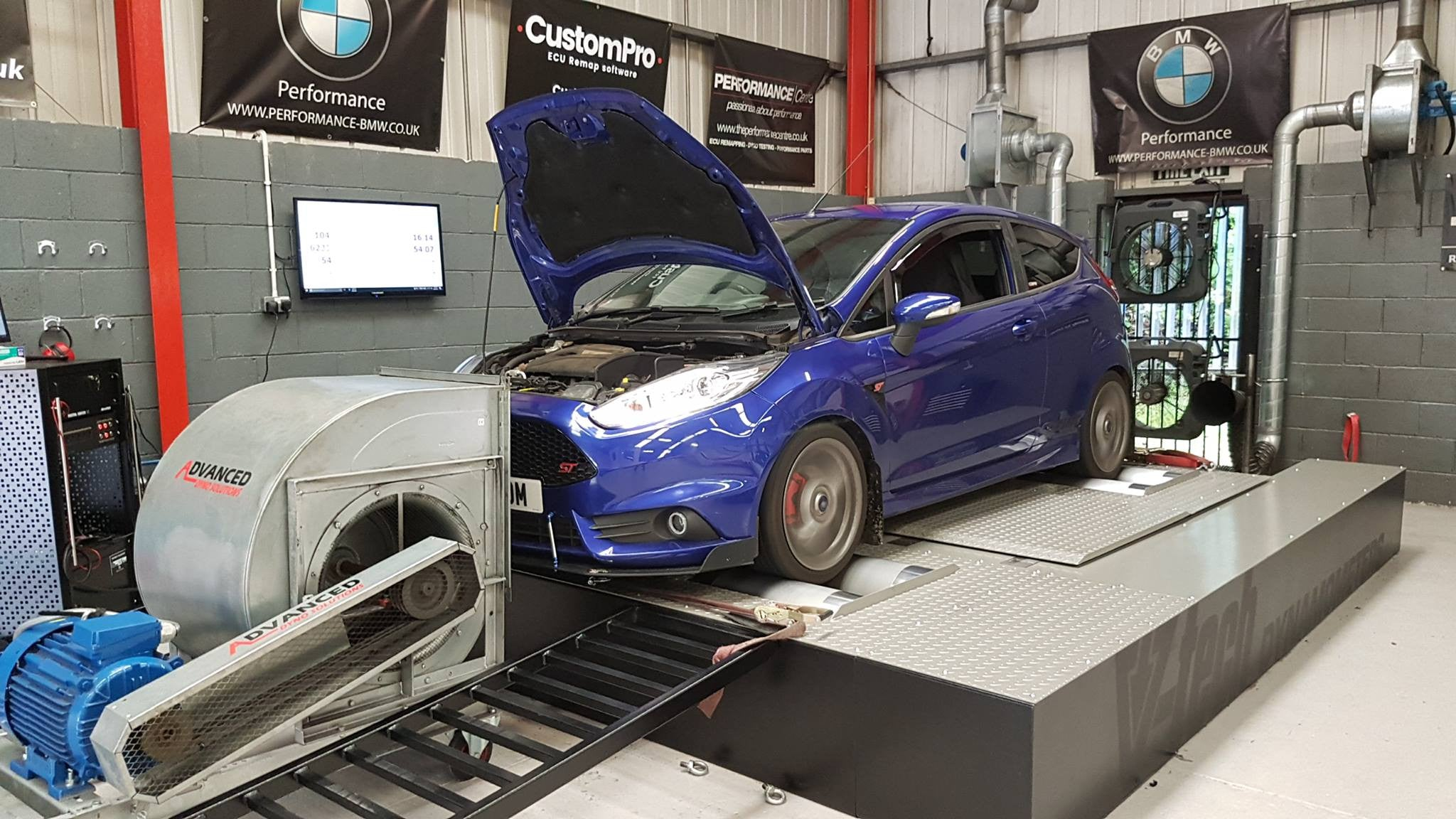 Ford Fiesta ST - CustomPro remap & Revo intake