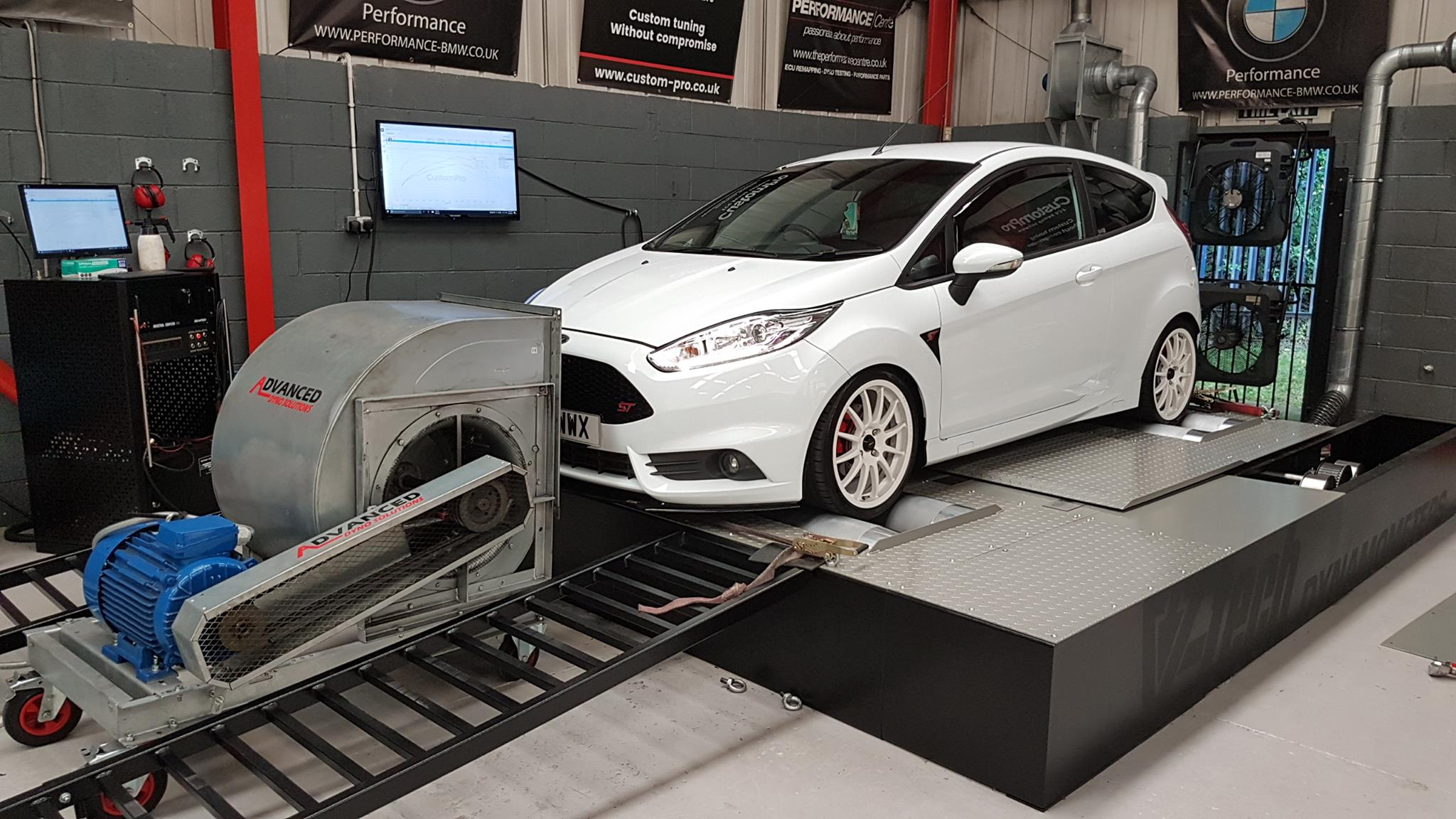 Ford Fiesta ST 180 - CustomPro remap