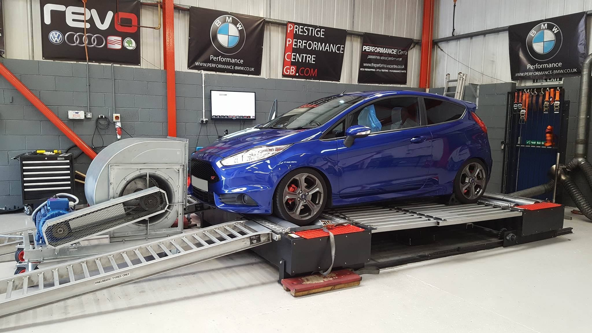 Ford Fiesta ST 180 - CustomPro remap software