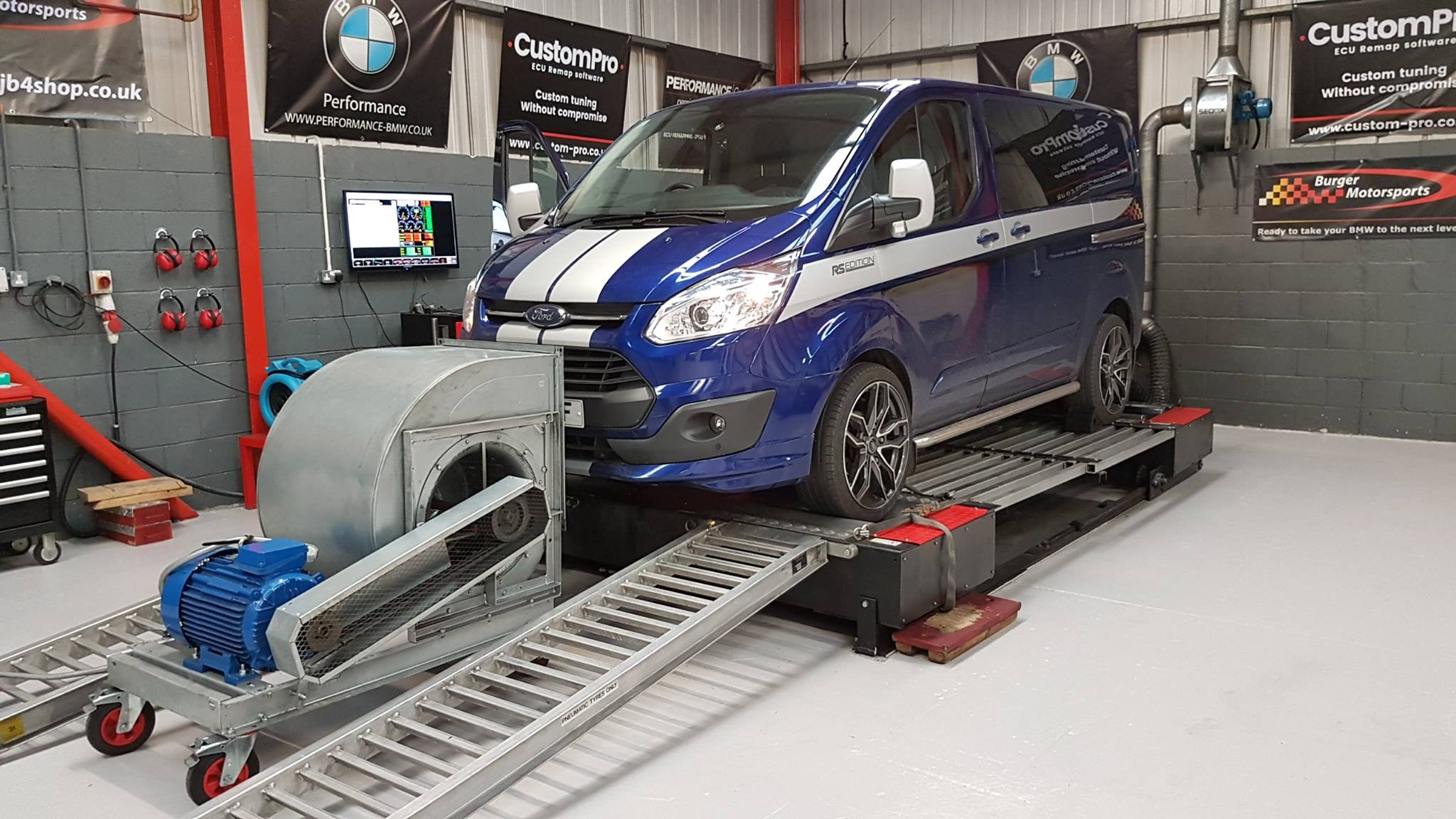 Ford Transit 2.2 125 - CustomPro remap software