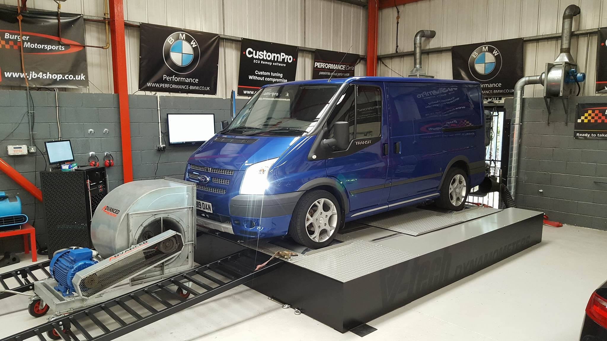 Ford Transit 2.2 140 - CustomPro remap