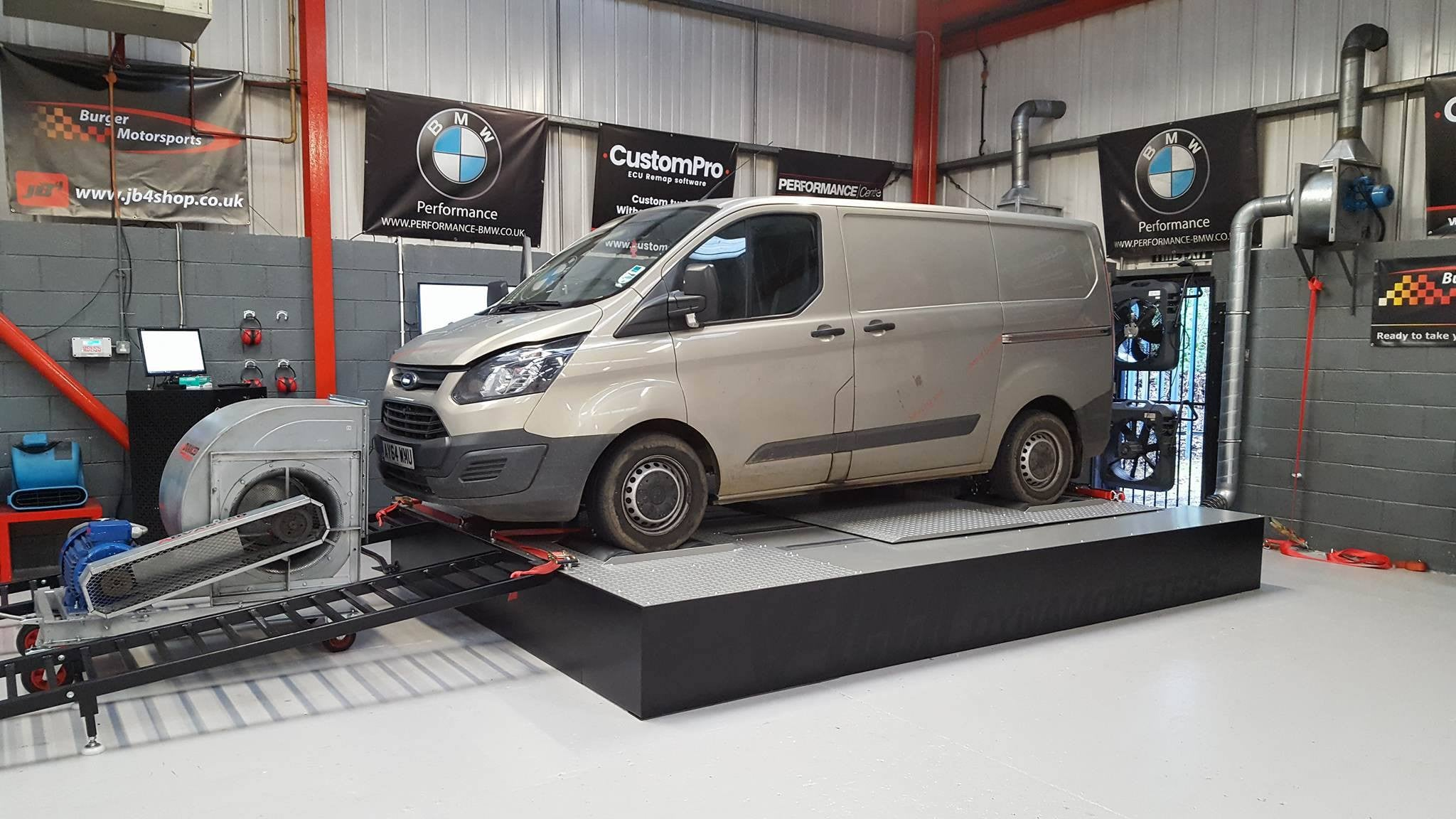 Ford Transit Custom 2.2 100bhp - CustomPro software