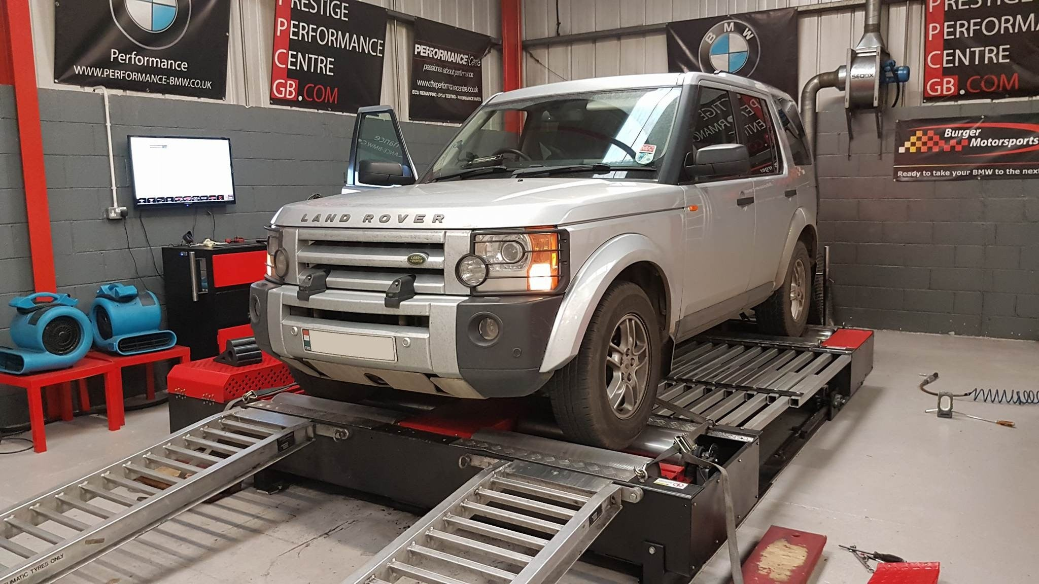 Land Rover Discovery 2.7 V6 TDI - CustomPro Remap