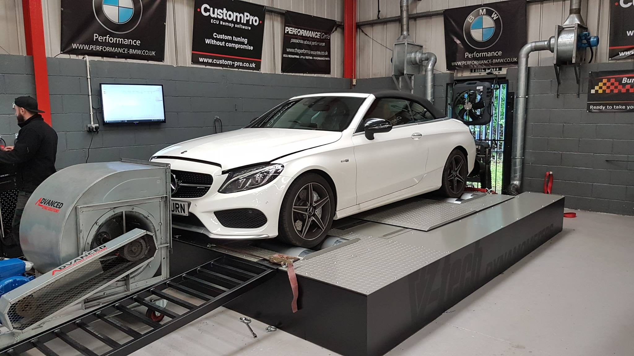 Mercedes C43 AMG - CustomPro remap