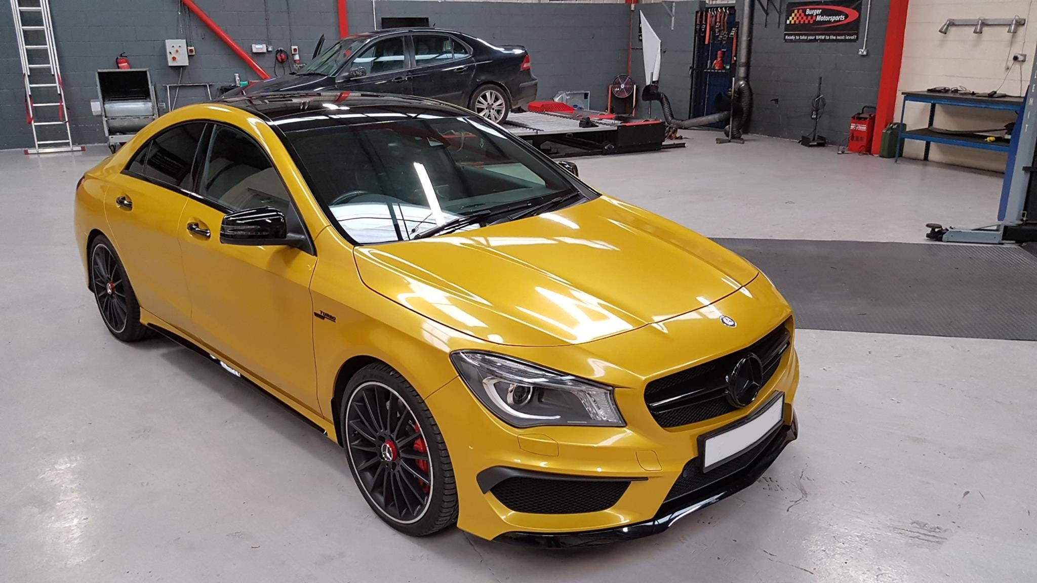 Mercedes CLA45 AMG - Stage 2 CustomPro