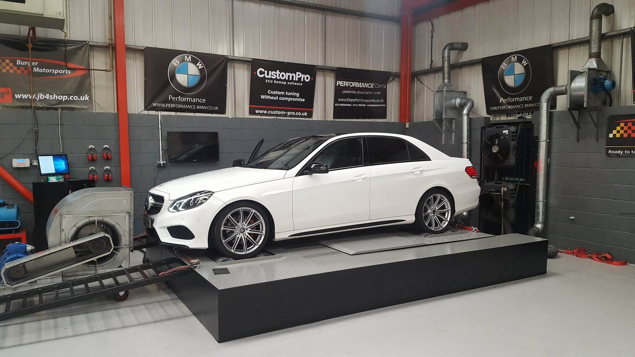 Mercedes E220 CDI - CustomPro remap software