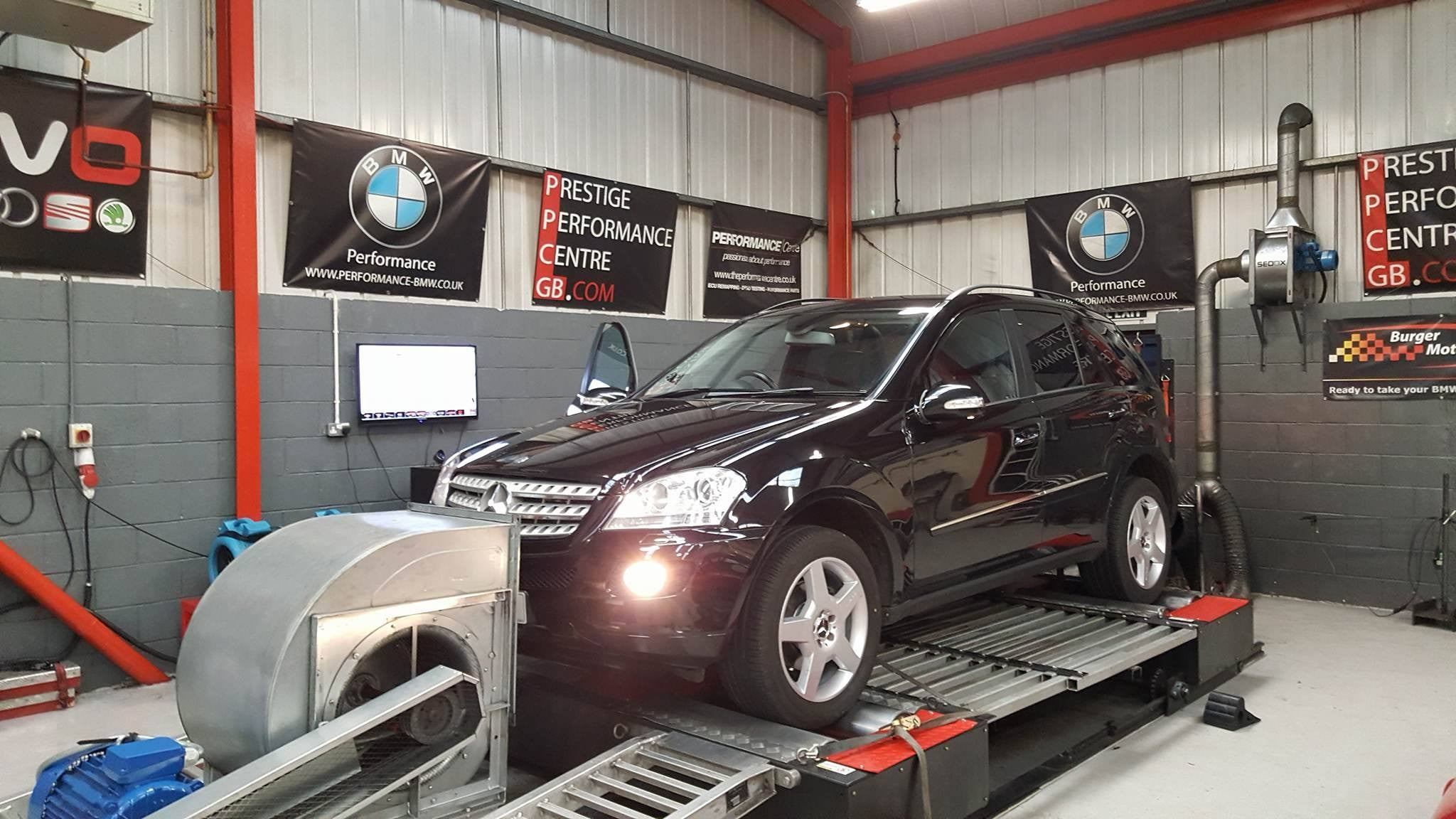 Mercedes ML320 CDI - CustomPro remap